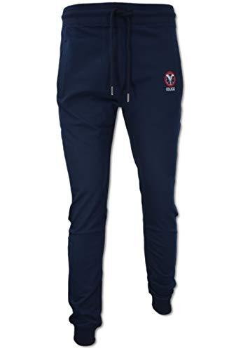 Carlo Colucci Modische Jogginghose, Navy Navy XL