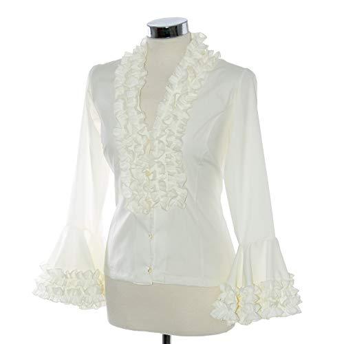 Camisa flamenca beige 💙
