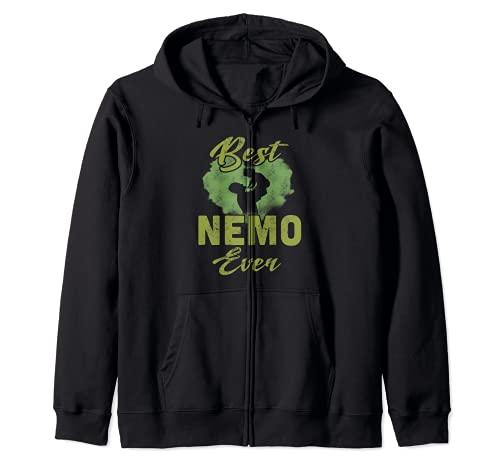 Best Nemo Ever Día del Padre Abuelo regalo para hombres Sudadera con Capucha