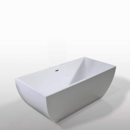 Freistehende Badewanne JENNIFER 170 x 75 cm Modernes und Innovatives Design