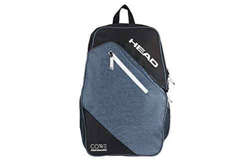 HEAD Core Tennis Racket Backpack - 2 Racquet Carrying Bag w/ Padded Shoulder Straps