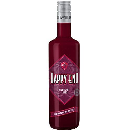 Happy End Wildberry Limes - Überragend Wildbeerig smooth fruchtig und schon jetzt eine Legende I Der Erdbeerlimes Killer - made im Schwarzwald I fruchtiger Aronia-Wildbeeren-Likör 700 ml