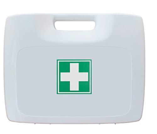 Botiquín Maletín de Primeros Auxilios para emergencias (Blanco) ✅