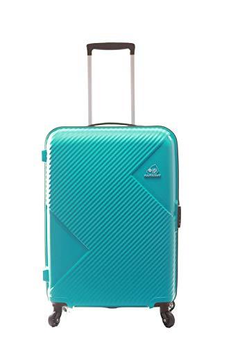 KAMILIANT by AMERICAN TOURISTER Kam Zakk SP Polypropylene Hardsided Medium Check-in Luggage (Coral Blue, 68 cm/26 inch)
