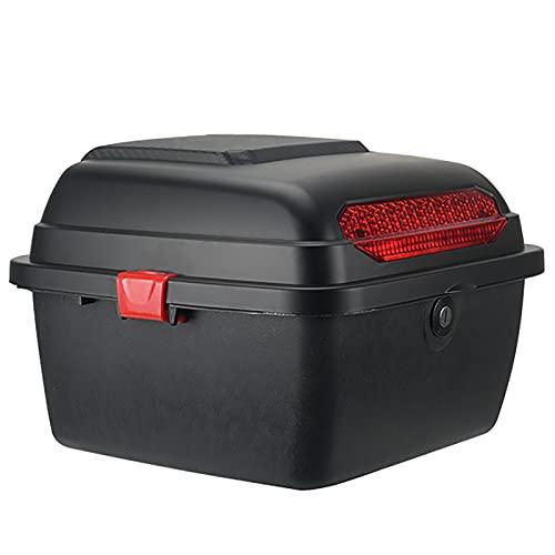 WANGPP Caja Superior para Motocicletas Touring, Caja Trasera, Caja Trasera De Almacenamiento Resistente Y Duradera, Fuerte Resistencia A Altas Temperaturas, para Guardar Cascos.