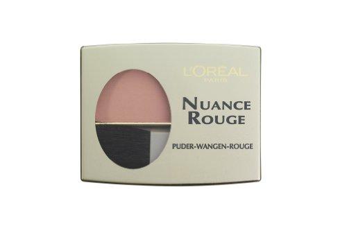 L'Oréal Paris Nuance Rouge, 101 Rosenholz / Wangenrouge für natürlich-mattes Make-Up-Finish, für...