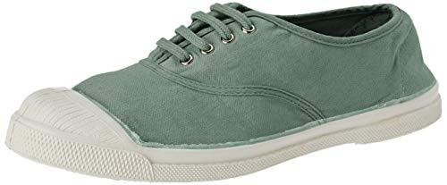 Bensimon Ten Lacet Femme, Zapatillas Mujer, Verde (Amande 0601), 36 EU