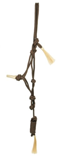 PFIFF Knotted - Cabezada de hípica, tamaño 100980-50, Color marrón