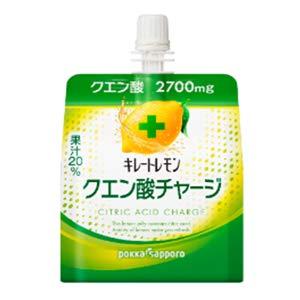 キレートレモン クエン酸チャージゼリー 180g×30本 パウチ