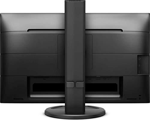 Philips 241B8QJEB - 24 Zoll FHD Monitor, höhenverstellbar (1920x1080, 60 Hz, VGA, DVI, HDMI, DisplayPort, USB Hub) schwarz