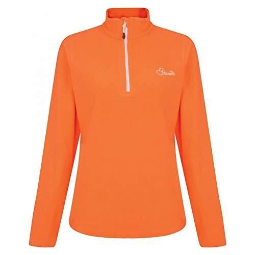 Dare 2b Freeze Dry II FLC Polaire Femme, Vibrant Orange, FR : S (Taille Fabricant : 10)