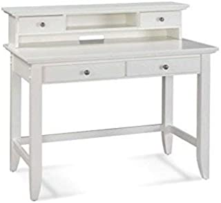 Naples White Student Desk & Hutch by Home Styles