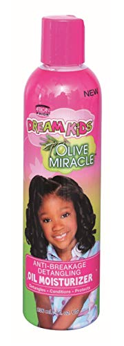 African Pride Dream Kids Olive Oil Miracle Oil Lotion 8 oz. (Pack of 2)