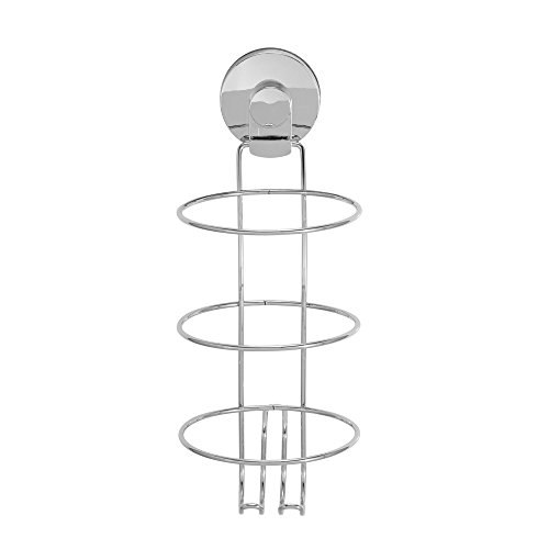 Everloc 99006Chrom Xpressions Saugnapf Handtuch Ring Haartrockner-Halter Silber