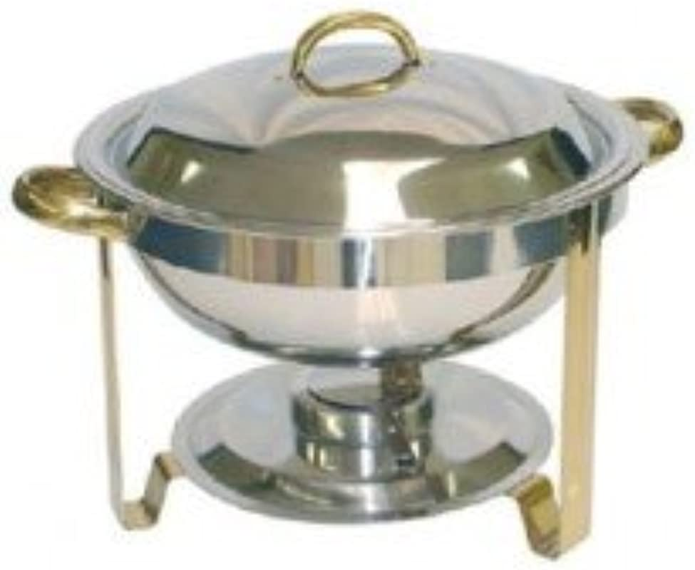 Tiger Chef SLRCF0831GH 4 Qt Round Chafer