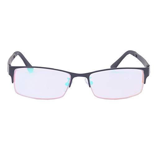 Arlt Medio capítulo Rojo Verde ciegos gafas de sol de las mujeres forman la ceguera al color de los vidrios del conductor Daltónico Gafas (Lenses Color : Wood RED)