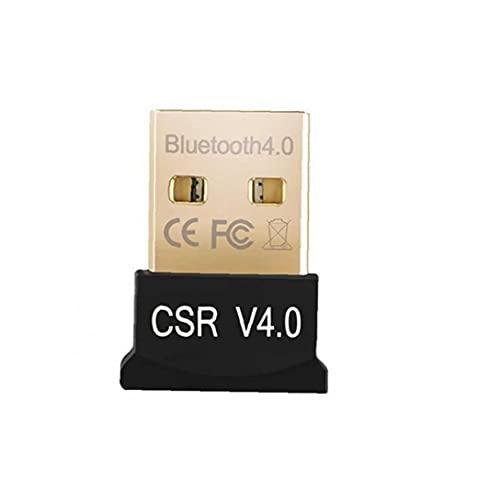 YepYes Adaptador inalámbrico Bluetooth USB Bluetooth Receptor Transmisor para Windows 10/8/7 / Vista/XP