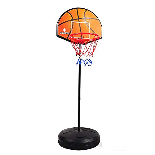 XZYB-lqj Songmin 2 In 1 Basketball-Brett Dartscheibe Basketballkorb Für Kinder Höhenverstellbar Draussen Kinder-Basketball-Ständer Basketball-System