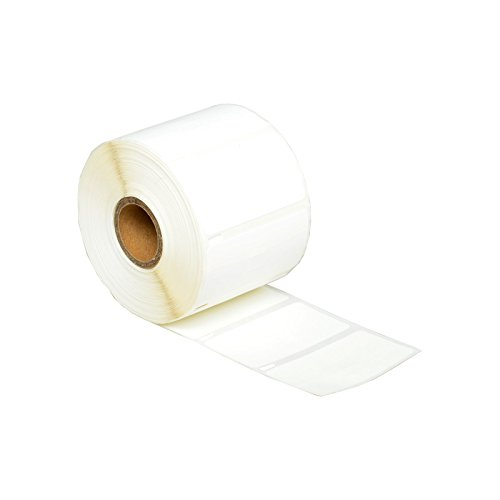 """GREENCYCLE 1 Roll (1500 Labels per Roll) Replacement 30299 3/8"""" x 3/4"""" 10mm x 19mm BPA Free LabelWriter Self-Adhesive Jewelry/Price Tag 2-up Labels Compatible for DYMO 300 310 315 320 330 400 400 Duo"""