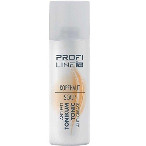 Profiline cuir chevelu Lotion Tonique Anti Graisse 200 ml Rafraîchit & tonifie le cheveux & la tête de la peau