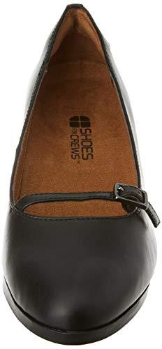 Shoes for Crews 57487-35/2.5 REESE Women's Slip On Elegant Shoes, Size 35, Black