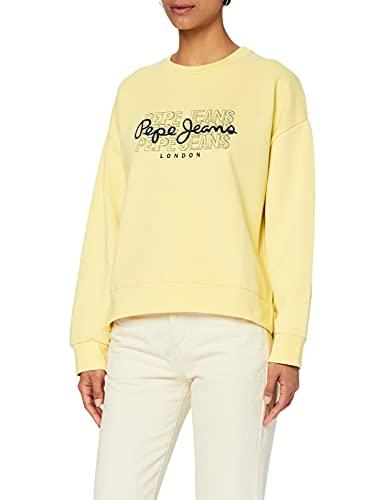 Pepe Jeans BERE Suter, 014sorbet Lemon, M para Mujer
