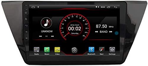 FACAIA Car DVD Player GPS Stereo Head Unit Navi Radio Multimedia WiFi Compatible con Volkswagen Tiguan 2-nd Generation 2016 2017 2018 2019 Control del Volante