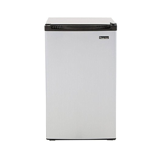 MAGIC CHEF HMBR440SE 4.4 cu. ft. Mini Refrigerator in Stainless Look