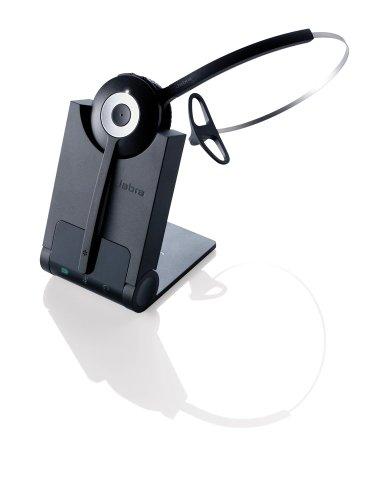 Auriculares inalámbricos Profesionales de Nivel básico Jabra Pro 920 para teléfonos de Escritorio Mitel, Snom, Avaya, Panasonic (Reacondicionado Certificado)