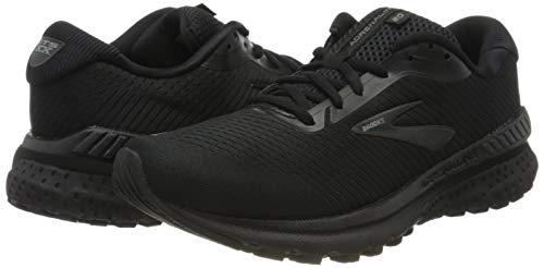 Brooks Mens Adrenaline GTS 20 Running Shoe - Black/Grey - D - 10.0 7
