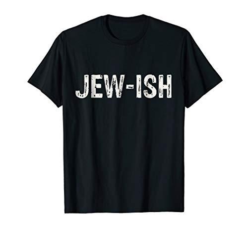 Jew-ish Jewish Challah Menorah Hanukkah Gift T-Shirt