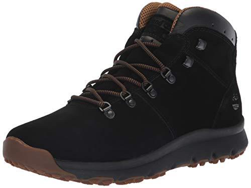 Timberland World Hiker Bottes en Cuir et Daim pour Hommes - Noir 41.5 Noir