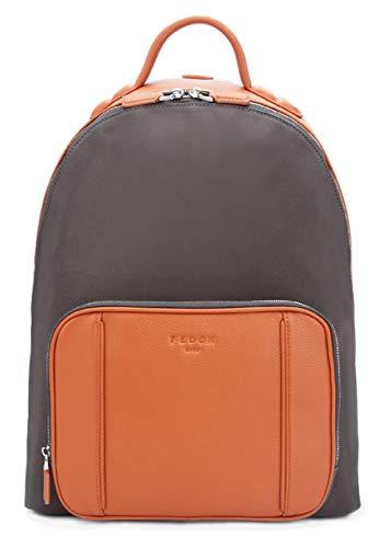 Fedon 1919 - Dimon - Zaino per laptop 13'' da uomo - MZ1930002 (Arancione)