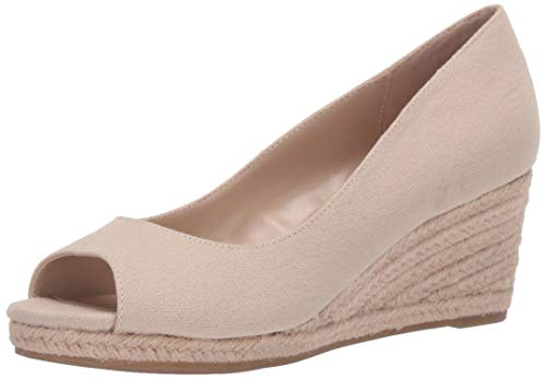 Bandolino womens Wedge Sandal, Nude, 9.5 US