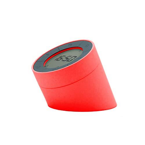 Gingko Edge Lichtmelder mit bewegungsaktivierten Modi und weichem dimmbarem Umgebungslicht, wiederaufladbar mit USB-Adapter-Blei, (Rot)