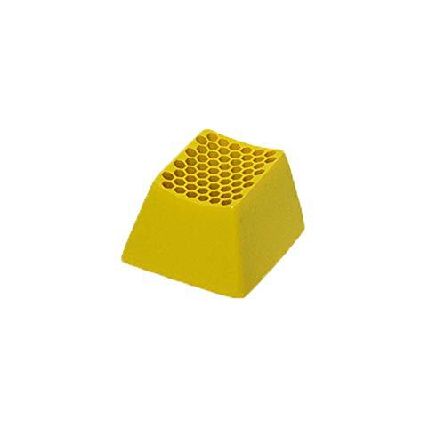 1PC KeyCap 3D Gold nid d abeille design BLOWCAPS de résine rétro-éclairé pour MX Opener Mechanical Gaming Clavier Décoration Remplacer des porte-clés Convient aux périphériques d ordinateurs