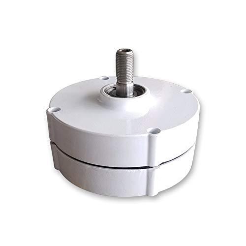 Generador de imán permanente de 200 W 12 V 24 V 3 fases sin engranaje generador eléctrico con base AC alternador Homeuse para turbina de viento de agua (24 V sin base)