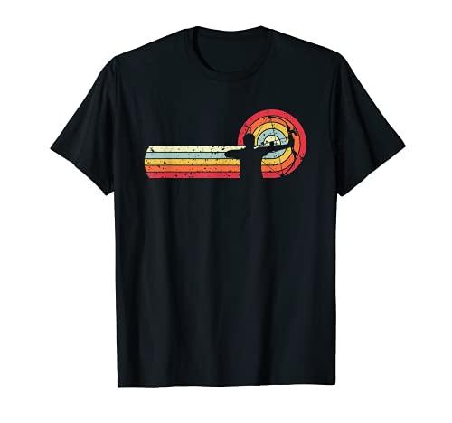 Arquero, tiro con arco, retro Camiseta