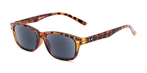 Readers.com Reading Sunglasses: The Key West Reading Sunglasses Plastic Retro Square Style