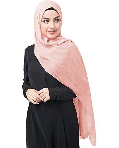 InEssence©, Kopftuch / Schal / Hidschab, aus Viskose, für Damen Gr. Medium, Pale Dogwood