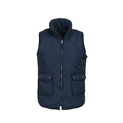 Outwears Chaleco de parka de forro polar para mujer, sin mangas, con cremallera, chaleco con bolsillos, talla grande, 3XL, ropa femenina, como muestra la foto-S