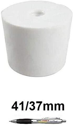 Beste Angebote Gummistopfen Gummikorken Gärspund Gärverschluss Stopfen Gäraufsatz [10 Größe] (41/37mm)