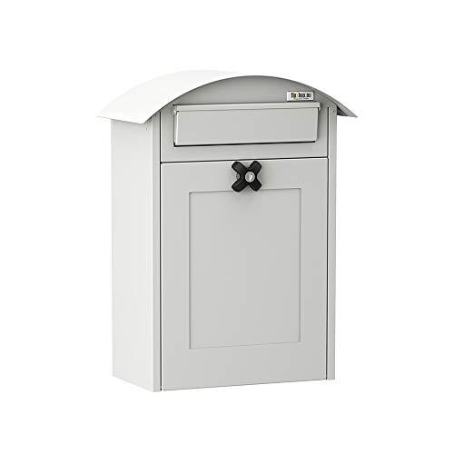 Flexbox Briefkasten Albertina 9301 Weiß
