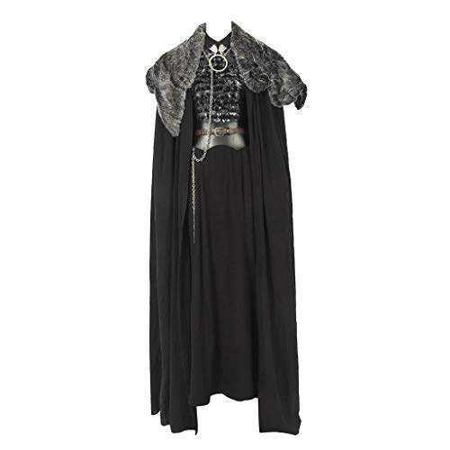 CosplayDiy Women's Suit for Game of Thrones IX Sansa Stark Cosplay Costume M Black