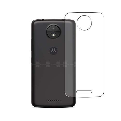 Vaxson 2 Unidades Protector de pantalla Posterior, compatible con Motorola Moto C [No Vidrio Templado] TPU Película Protectora Espalda Skin Cover