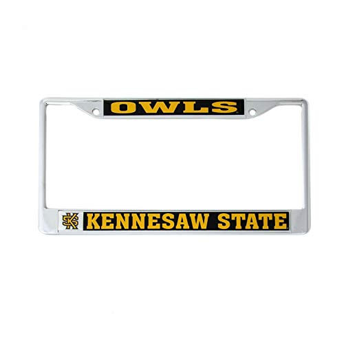 Desert Cactus Kennesaw State University Owls License Plate Frame Front Back Car Officially Licensed