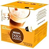 Nescafe - Dolce gusto latte macchiato (pack de 5), 5x 16monodosis de café