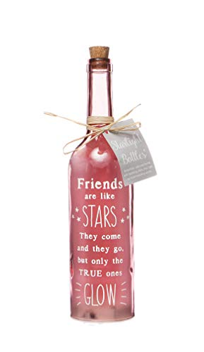 Starlight Bottles - FRIENDS, Rose, 6.70 x 6.70 x 29.50 cm