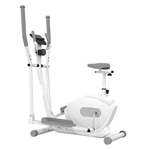 DJDLLZY Entrenador de cruz elíptica | Gimnasio en casa | Máquina de ejercicios | Air Walker | Compacto |