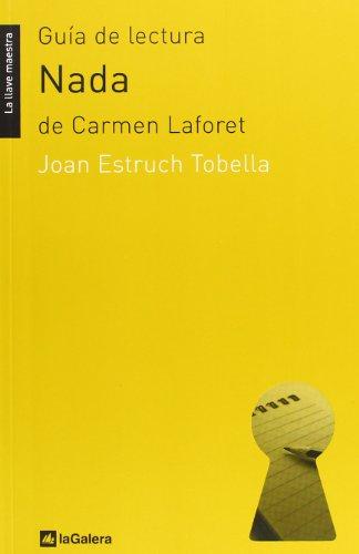 Guía de lectura de 'Nada': de Carmen Laforet: 21 (La llave maestra)